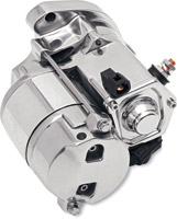 Rivera Primo Chrome 1.6 KW Starter for Big Twin