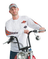 Easyriders American Legend Long-Sleeve Pocket T-shirt