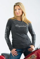 Easyriders Women's Long-Sleeve Lady Rider Shirt