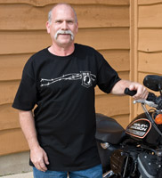 J&P Cycles® POW MIA Wire T-shirt