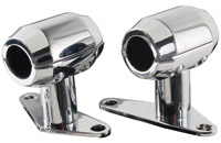Hardbody Chrome Springer Fender Mount Clamps