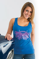 Easyriders Women's Peace, Love and Motorcycles Tank Top