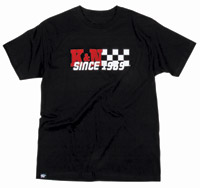 K&N Since ′69 Black T-Shirt