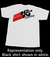K&N Black Original Racing T-Shirt
