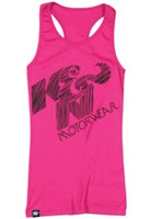K&N Berry Messy Tank Top