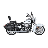 Vance & Hines True Duals Exhaust Chrome