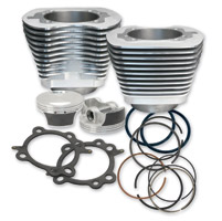S&S Cycle 97″ Big Bore Kit Silver for Twin Cam