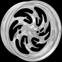 Xtreme Machine Reaper Chrome Front Wheel for ABS, 21