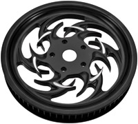 Xtreme Machine Reaper 66T 20mm Black Cut Belt Pulley