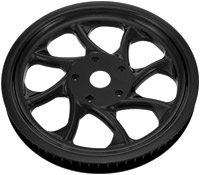 Xtreme Machine Turbo 66T 1″ Black Belt Pulley