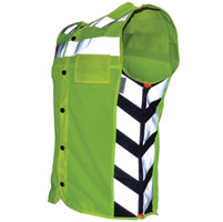 Missing Link Men′s Meshed Up Safety Vest