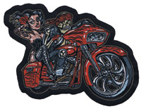 Lethal Threat Bagger Biker 5″ x 6″ Patch