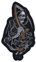 Lethal Threat Dark Reaper 6-1/2″ x 4″ Patch