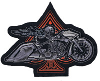 Lethal Threat Ace Bagger Biker 5″ x 6″ Patch