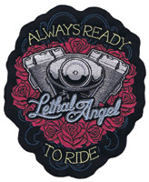 Lethal Threat Angel Engine 6″ x 5″ Patch
