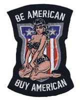 Lethal Threat Buy American Mini Patch
