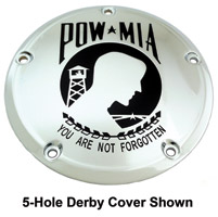 Custom Engraving Ltd. POW-MIA Derby Cover