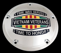 Custom Engraving Ltd. Vietnam Time was Served Timing Cover
