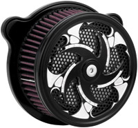 Xtreme Machine Challenger Black Cut Air Cleaner