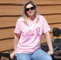 J&P Cycles® Ride, Hope, Cure Women's Breast Cancer Awareness T-Shirt