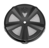 Vance & Hines VO2 Skullcap Crown Air Cleaner Insert Vented Black