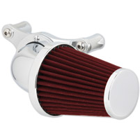 Wimmer Custom Cycle Super Intake with Red Filter and Built in Breathers