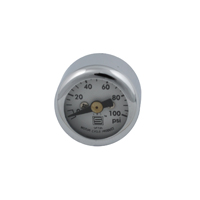 V-Twin Manufacturing Mini Oil Pressure Gauges