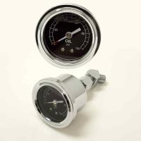 Liquid Filled Oil Pressure Gauge