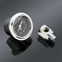 J&P Cycles® Rocker Box Oil Pressure Gauge
