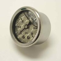 J&P Cycles® Liquid Filled Oil Pressure Gauge