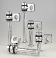 Custom Cycle Engineering 2″ Chrome Dawgbone Style Risers