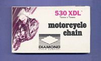 Diamond Chain Company XDL O-ring Drive Chain
