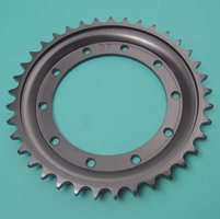 Rear Brake Drum Sprocket and Rivet Set