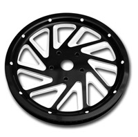 Roland Sands Design Ronin Contrast Cut 66T Forged Aluminum Pulley