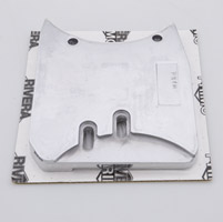 Rivera Primo The 'Equalizer' Motor Plate for Open Belt Drive on 1970-84 4-Speed Big Twin Cone Motors