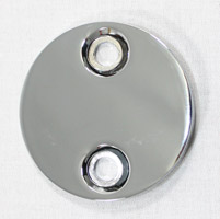 J&P Cycles® Chrome Chain Inspection Cover
