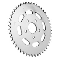 J&P Cycles® Rear Sprocket with Cutouts