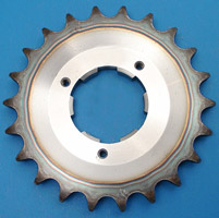 J&P Cycles® 22 Tooth Heavy-Duty Transmission Sprocket