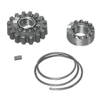 J&P Cycles® Complete Kick-Starter Ratchet Gear Kit