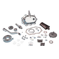 J&P Cycles® Heavy-Duty Big Twin Kick-Start Kit