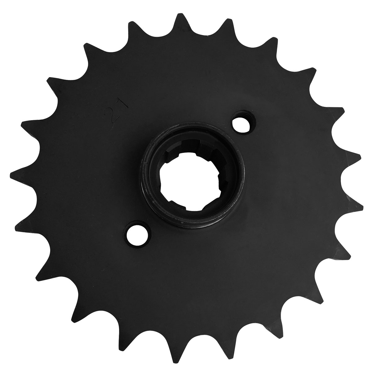 J&P Cycles® 21 Tooth Heavy-Duty Transmission Sprocket