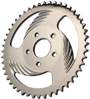 Swept 51-Tooth Rear Chain Sprocket