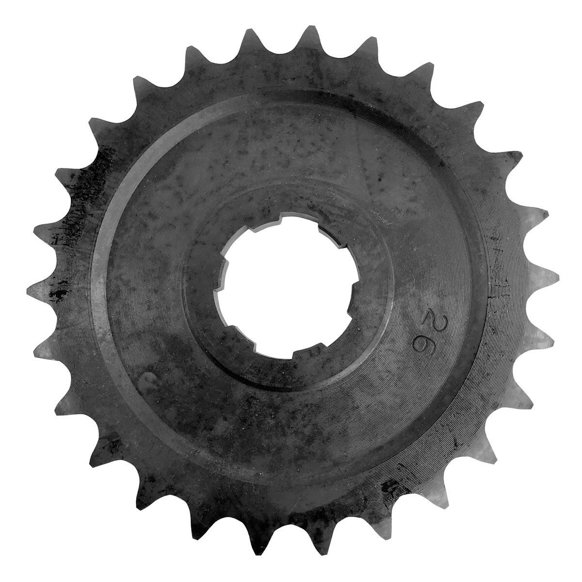 J&P Cycles® 26 Tooth Heavy-Duty Transmission Sprocket