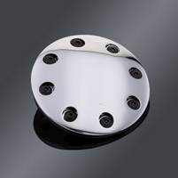 J&P Cycles® Chrome Riveted Points Cover