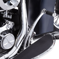 Arlen Ness 5-Hole Deep Cut Chrome Point Cover for Twin Cam