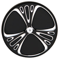 Arlen Ness 5-Hole Deep Cut Chrome Points Cover