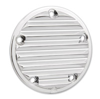 Arlen Ness 5-Hole Retro Chrome Point Cover