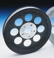 Black 70 Tooth Rear Belt Pulley