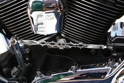 California Custom Cruisers Barbed Skull Shift Linkage