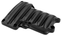 Roland Sands Design Black Transmission Cover for Twin Cam